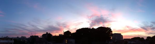 夕焼けパノラマ