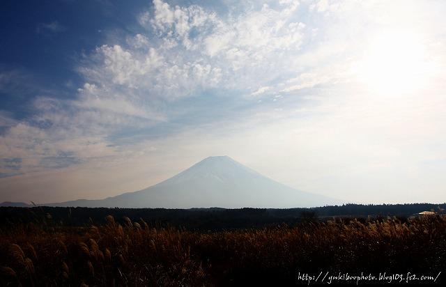 朝霧の富士2