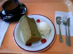 シフォンケーキセット