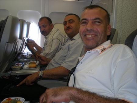 チュニジア人飛行機