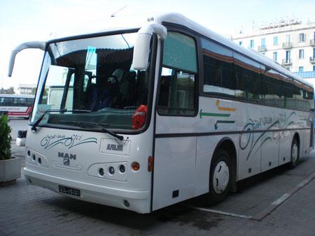 チュニジアバス