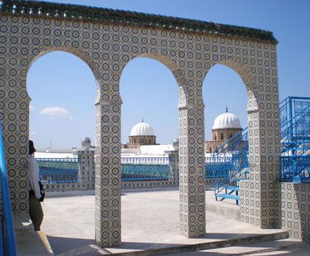 チュニジア屋上