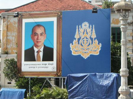 カンボジア国王