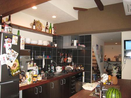 ゲストハウスキッチン