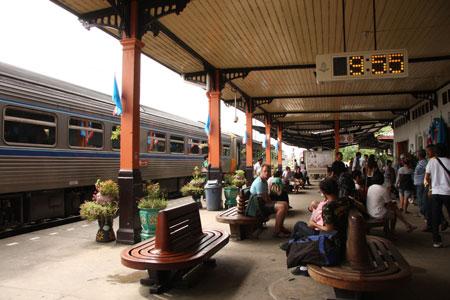 アユタヤ駅