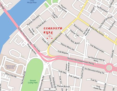 ランプトリ通り近郊の地図