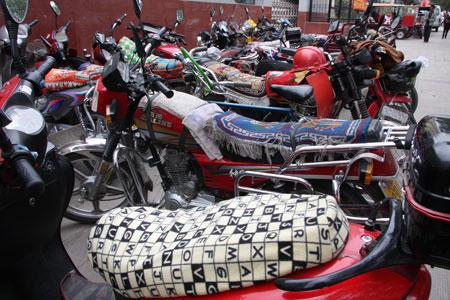 派手なバイクたち
