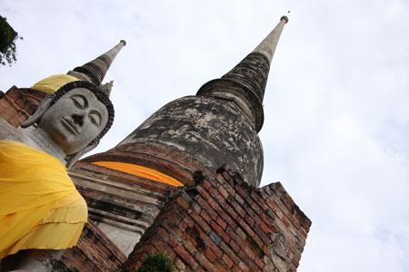 仏塔のてっぺん