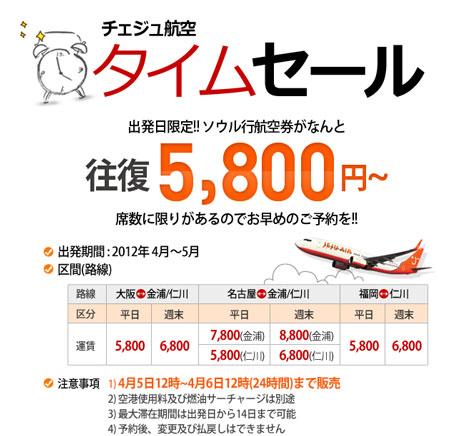 5800円!