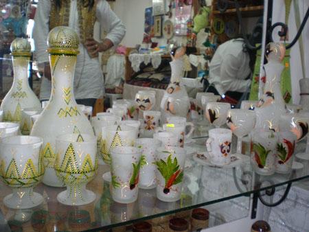 チュニジアンハンドメイドグラス