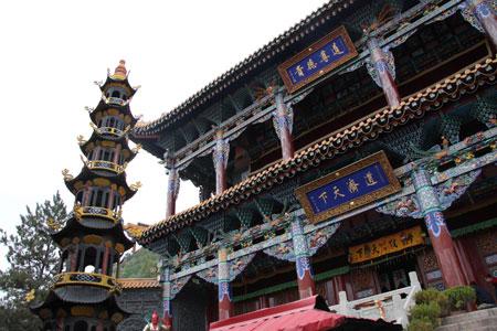 北禅寺の下