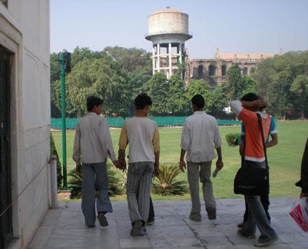 インドの仲良し男子達