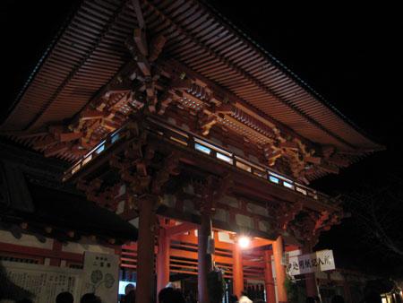 上賀茂神社入り口