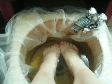 漢方に足を浸す