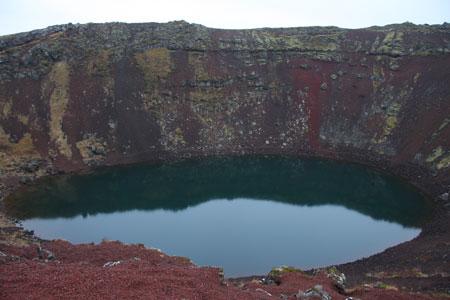 ケリズ火口湖