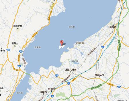 沖島はここです