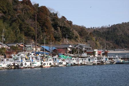 島民のほとんどが漁業関連