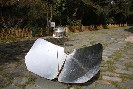 太陽湯沸し器