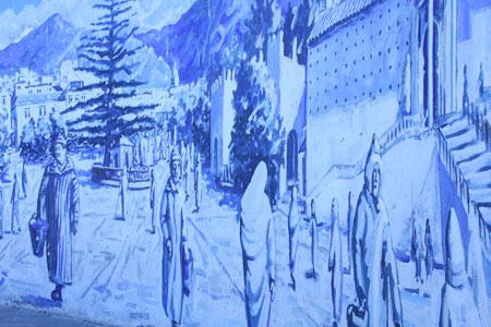 シャウエンの壁画