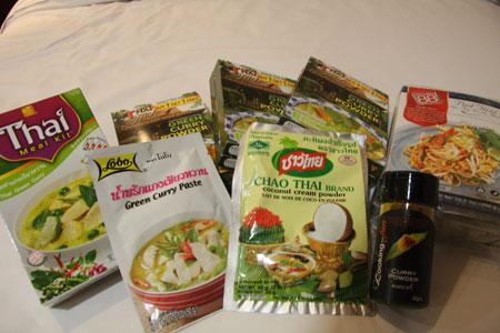 タイ料理のレトルト
