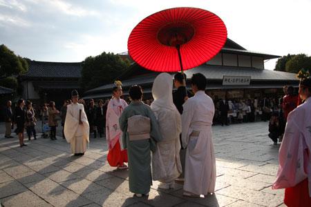 八坂神社の花嫁
