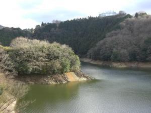 山田ダム湖