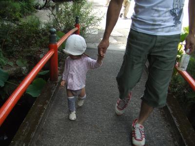 yunお墓参り2009.9②