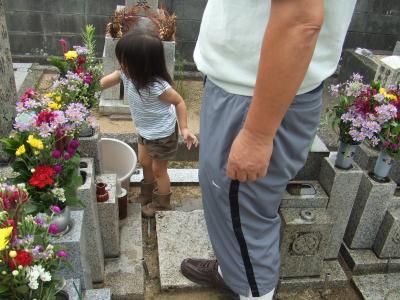 yun2010.9お墓参り