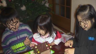 yun2010.12クリスマスチョコ