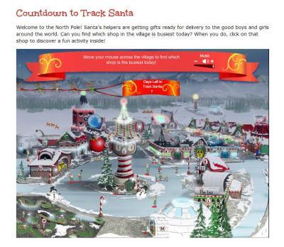 2011.12countdown to track santa