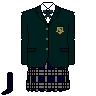 西南学院高等学校 制服