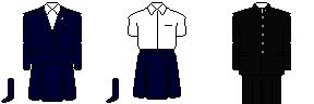大阪府立東淀川高等学校制服 seifuku ゆにめいと