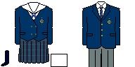 [千葉]千葉国際高等学校 制服