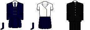 [大分]大分県立別府青山高等学校 制服