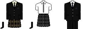 [東京]八王子高等学校 制服