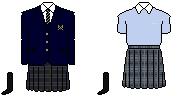 [東京]品川エトワール女子高等学校 制服