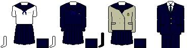 [岩手]岩手県立盛岡商業高等学校 制服
