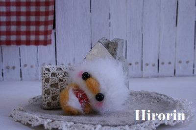 mini白ヒヨコ