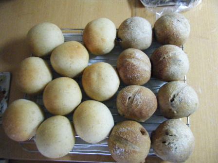 丸パン2種