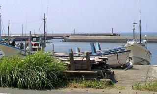 夏海 晴香と船 ちび