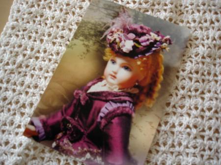 ティナさんポストカード2