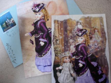 ティナさんポストカード3