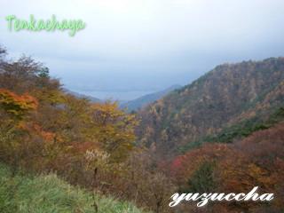御坂峠からの景色