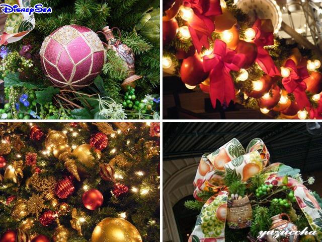 東京ディズニーシー クリスマスデコレーション