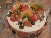 20100123ドルチェモスカートのケーキ