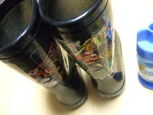 20100413チビの長靴