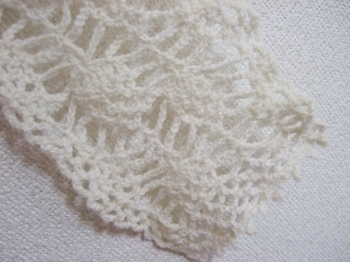 20100725パイナップル編みストール2
