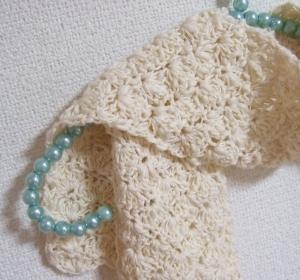 20100827かぎ針編みストール2
