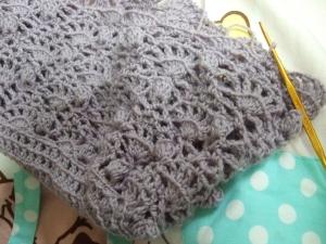 20100831模様編みバッグ