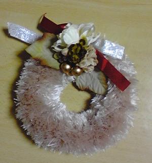 20101219クリスマスリース1